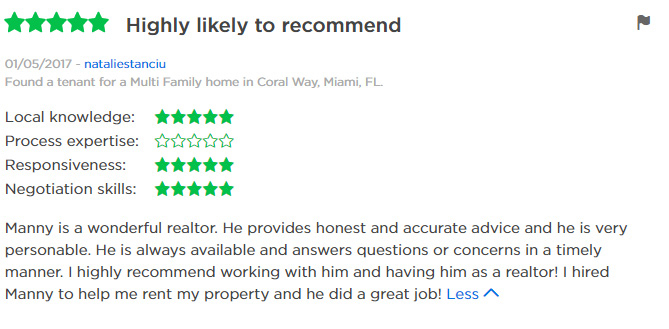 Zillow Review Manny 2